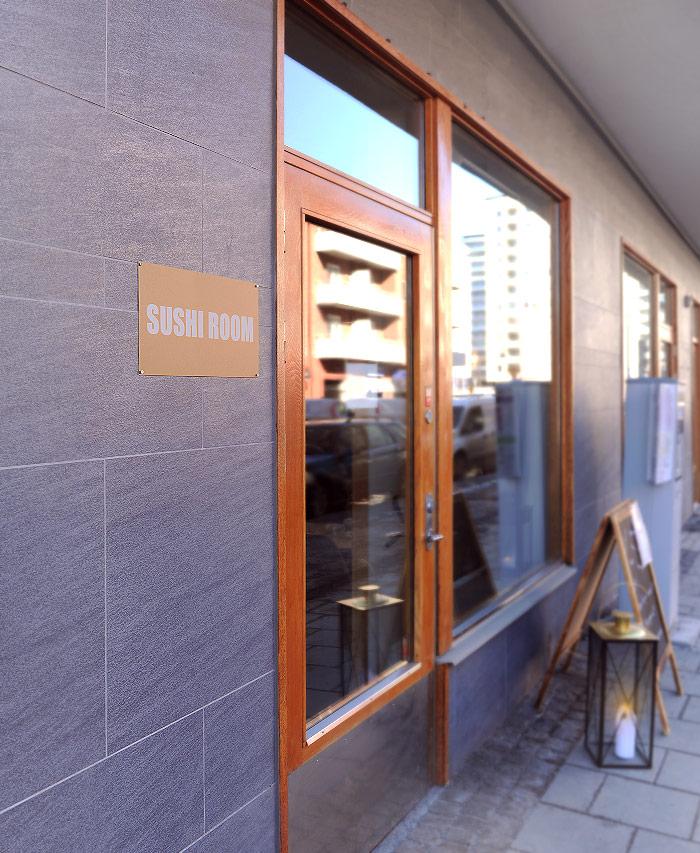Fasaden Sushi Room Sundbyberg