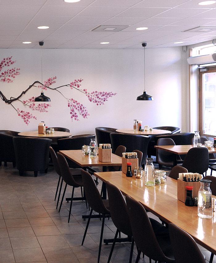 Lokalen Sushi Room Sundbyberg